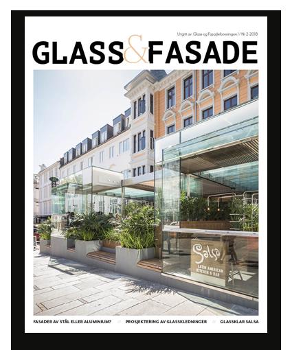 Foto av Magasinet Glass og Fasade