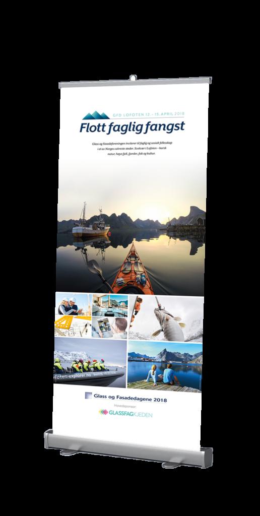 Profileringsmateriell GFD 2018. foto: © visitnorway.no