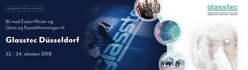 Foto. Glasstec webannonse