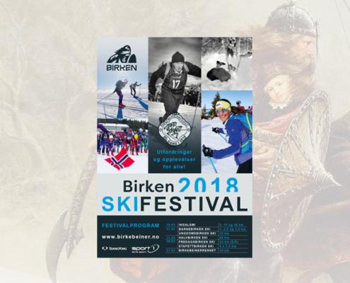 Foto. Program Birken Skifestival 2018