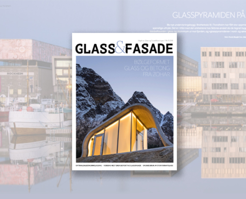 Foto av cover Glass og fasade 0318