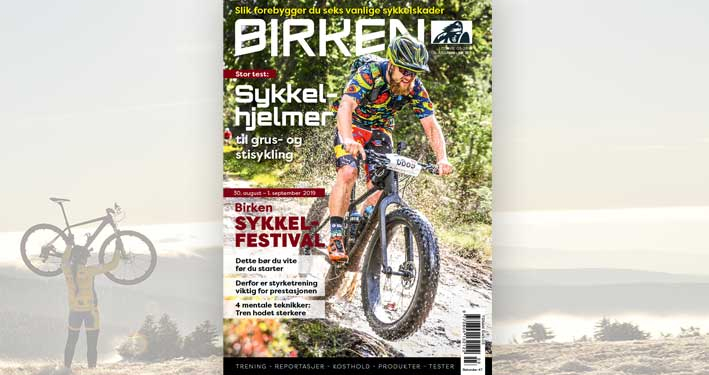 Cover magasinet Birken 0319