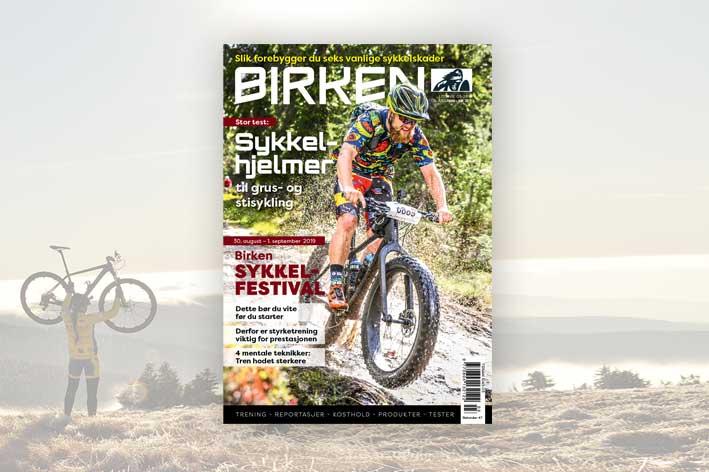 Cover magasinet Birken 0319