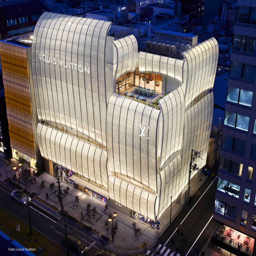 Foto av Louis Vuitton i Osaka