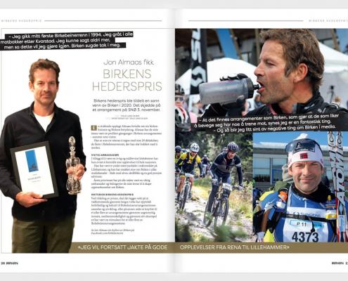 Foto av magasinet Birken